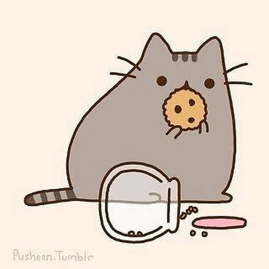 Рисовать няшного котика