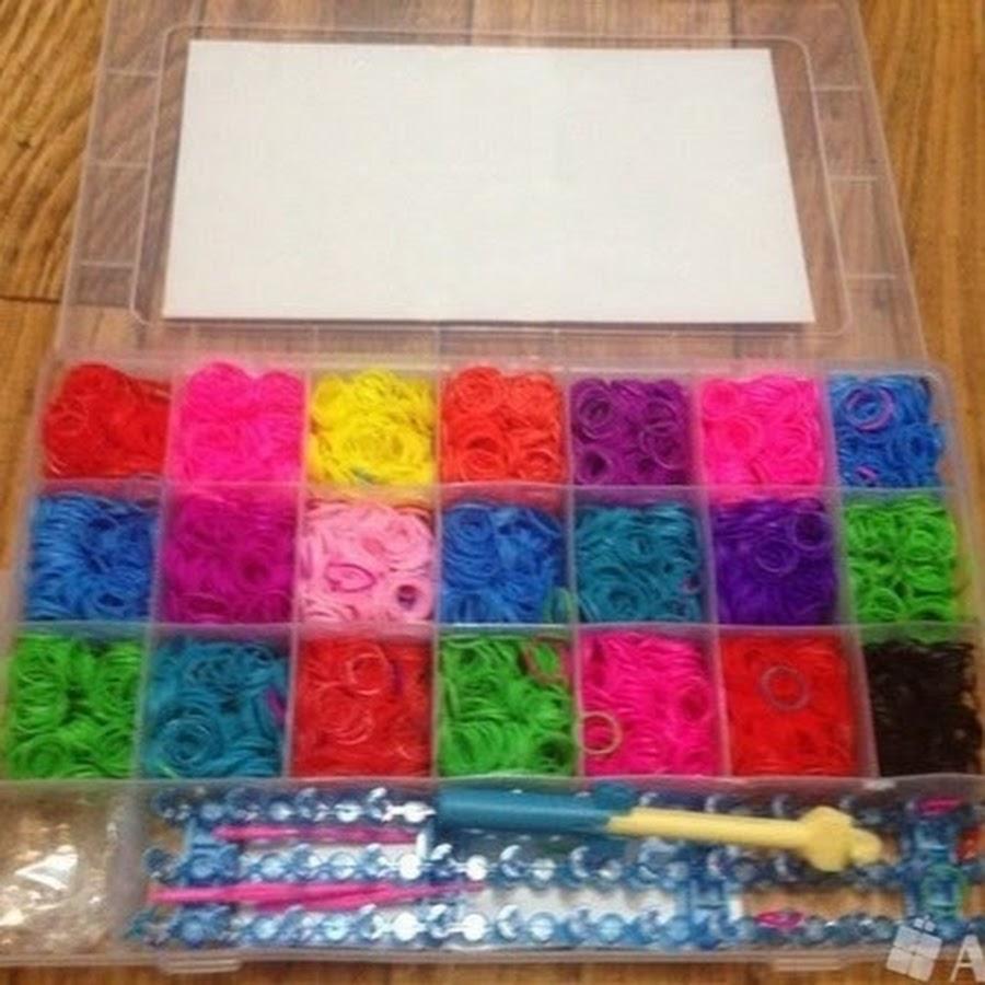 Браслеты плетение резиночки