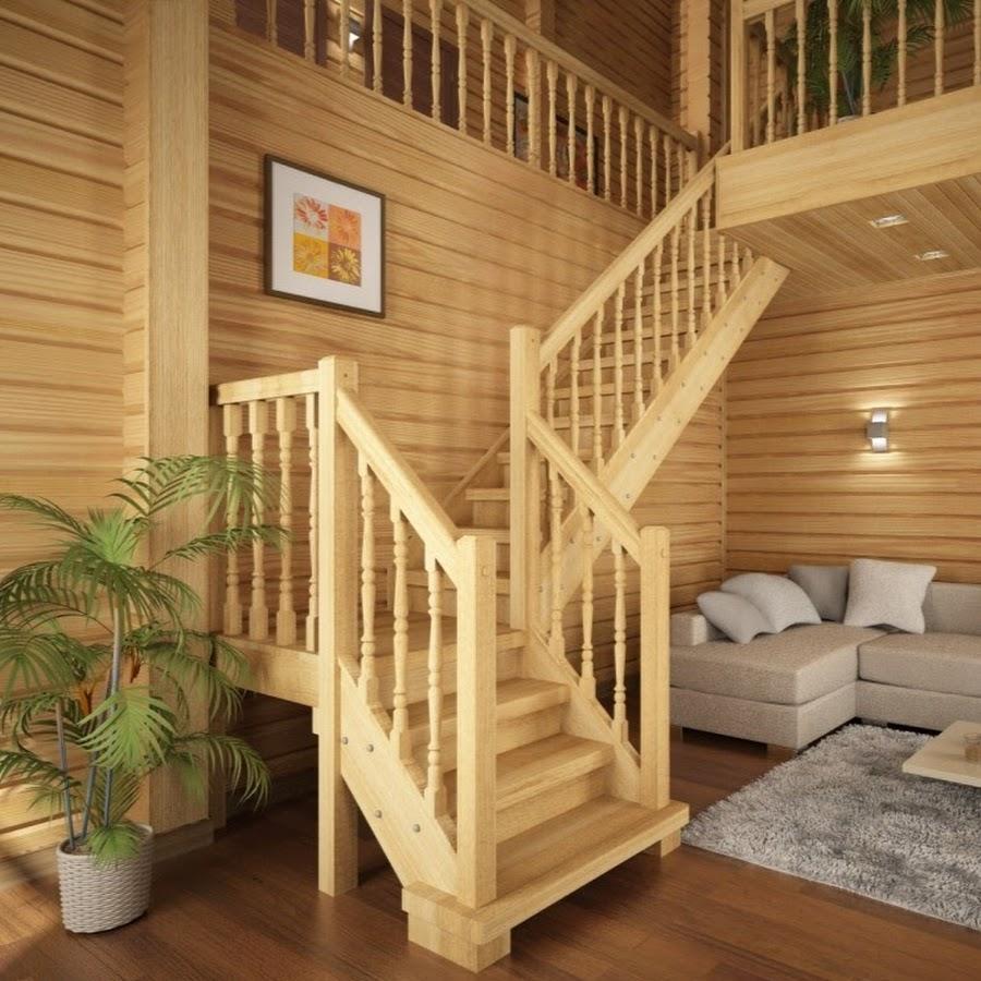 Деревянные лестницы фото своими руками