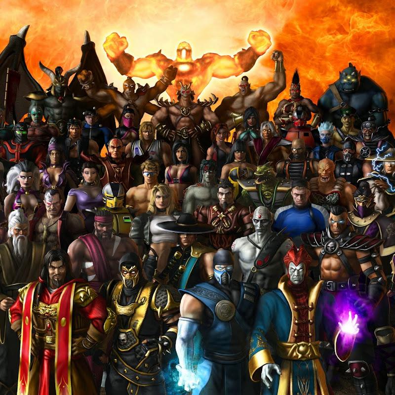 Mortal kombat armageddon characters names