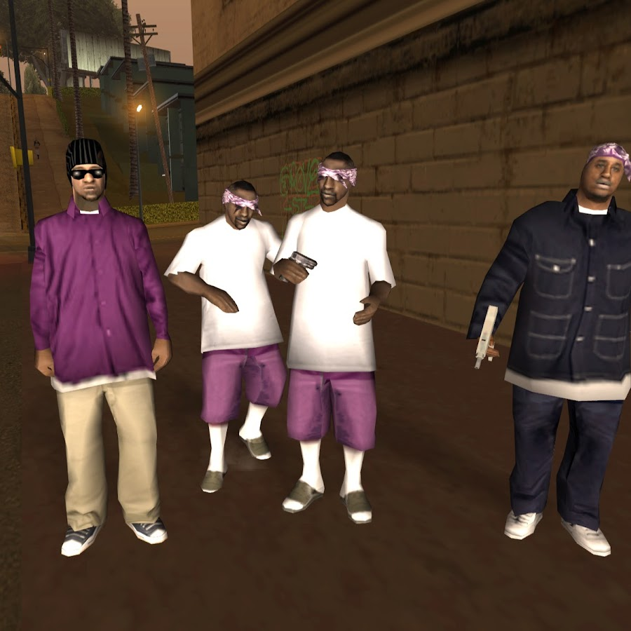 Банды в GTA San Andreas Все для Grand Theft Auto