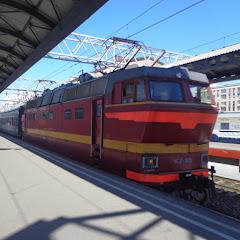 Фото фирменный поезд двухэтажный состав 005а санкт-петербург москва