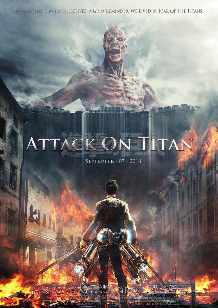 Attack on Titan Live Action - Tấn Công Người Khổng Lồ 2015 VietSUb