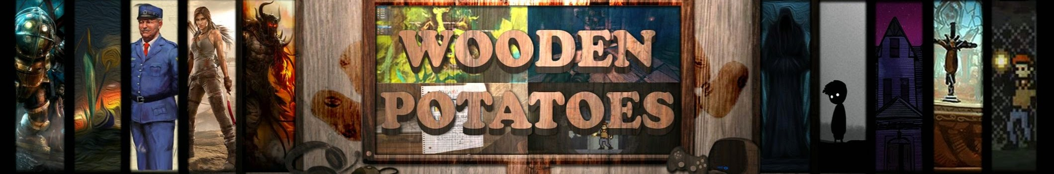 Wooden Potatoes