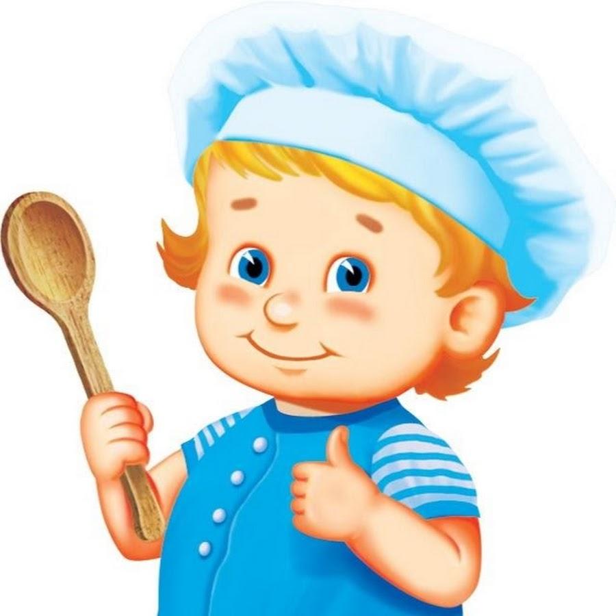 Рисунок поваренка для детей