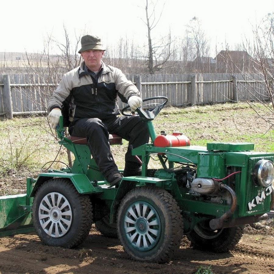 Купить мини трактор сделанный