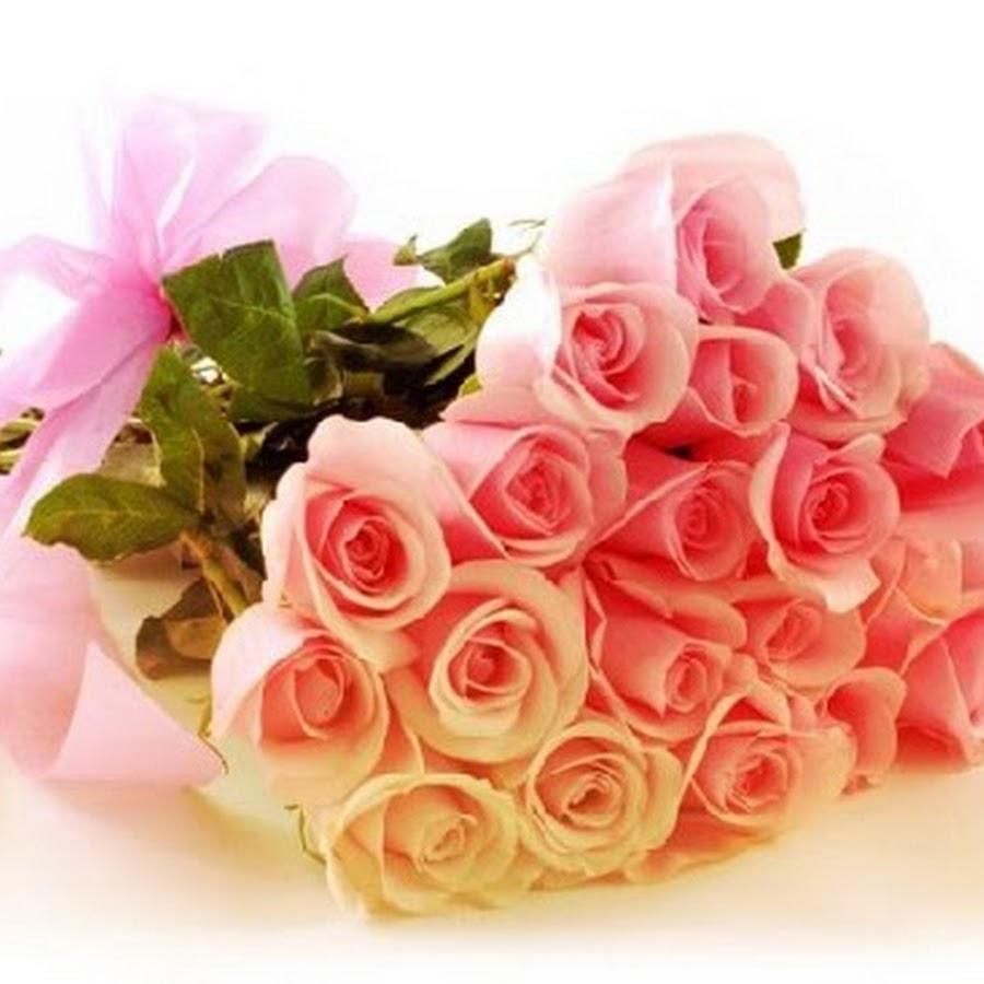 Цветы для оленьки открытка