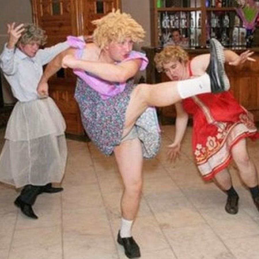 Конкурс шуточные танцы