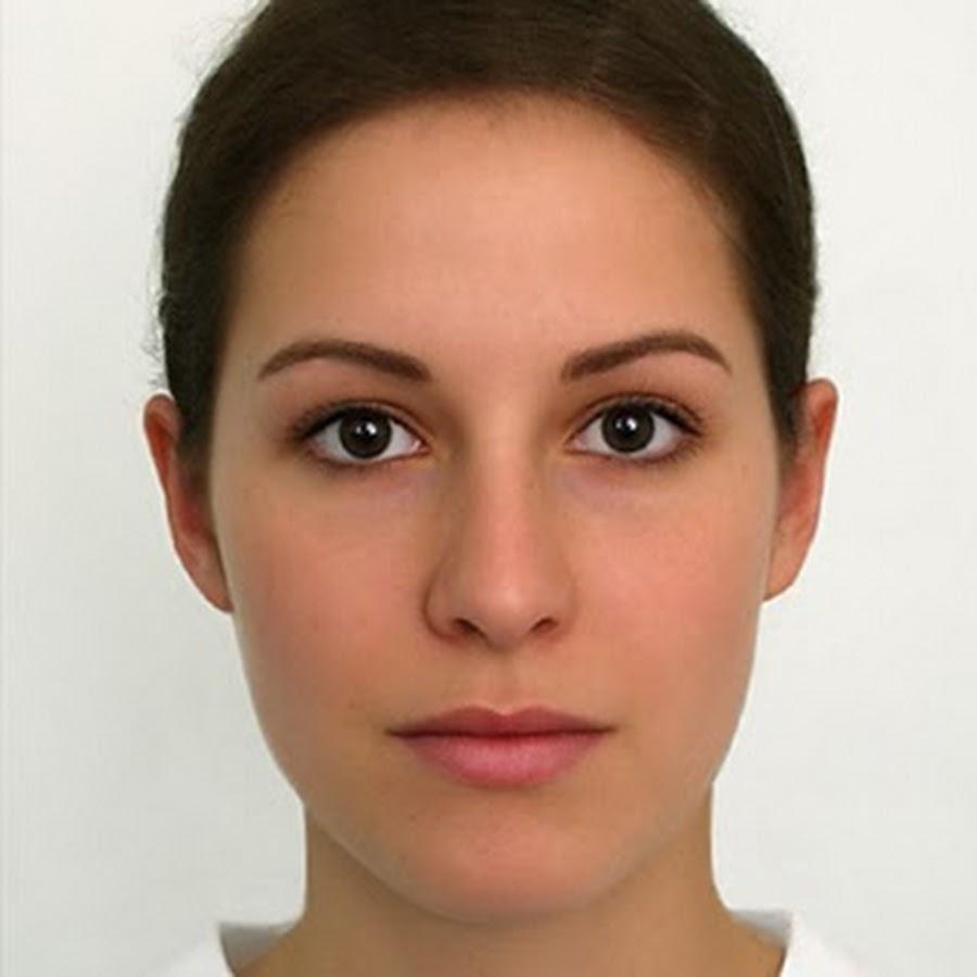 Фото девушки по чертам лица