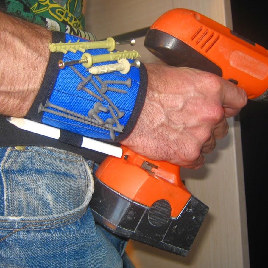 Браслет с магнитом для гвоздей своими руками
