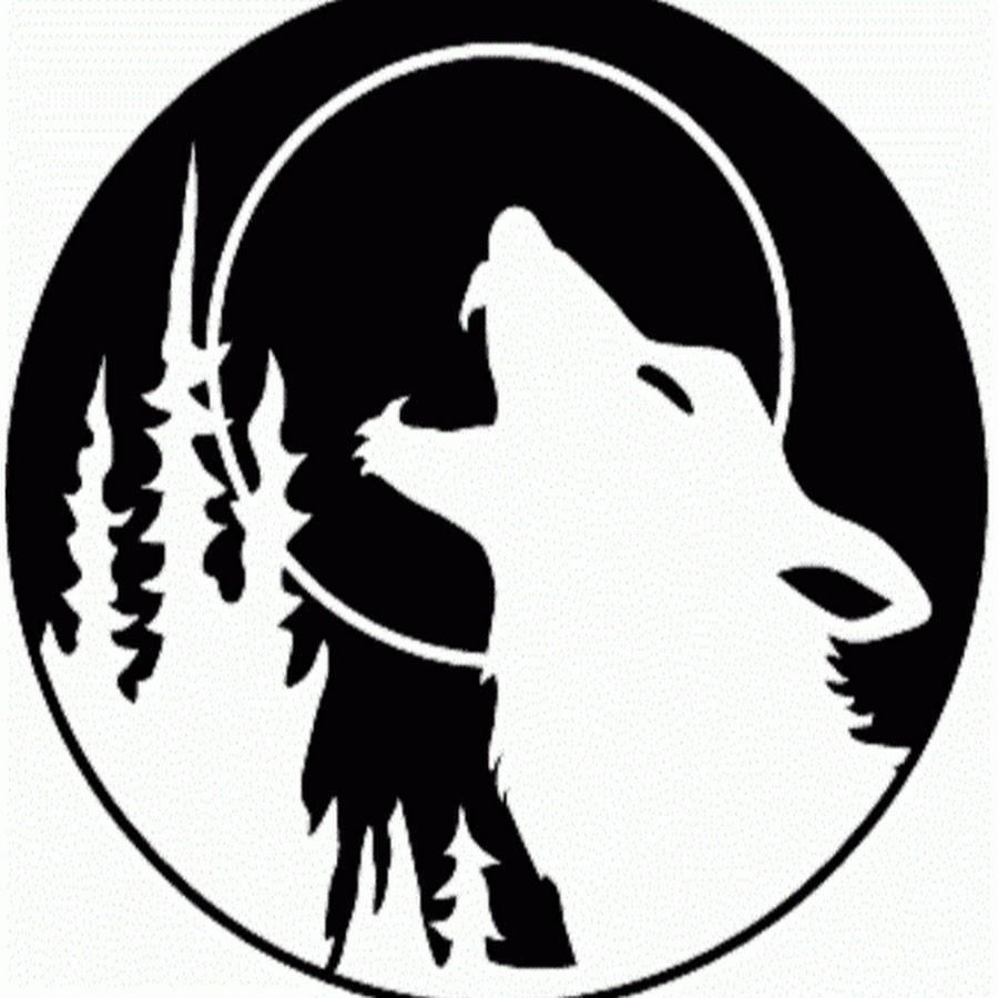 Трафареты волков для декора шаблоны