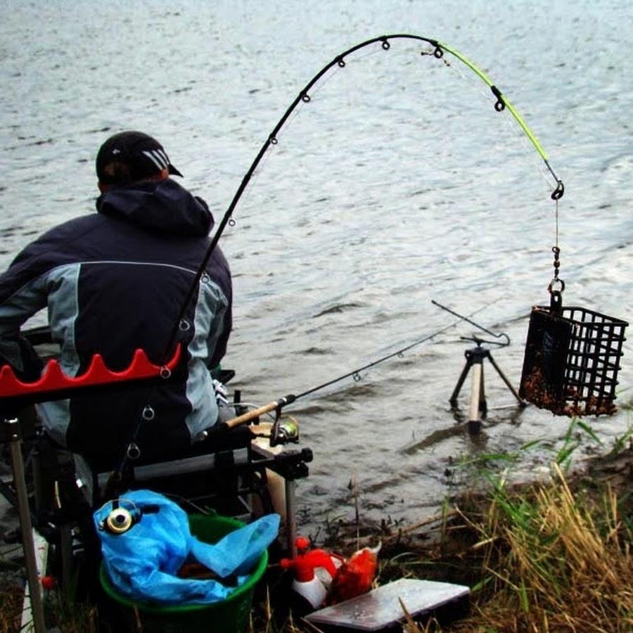 рыбалка на течении на фидер