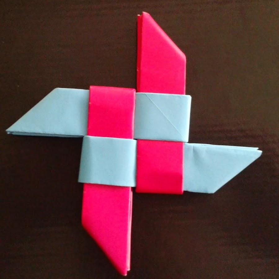 Ninja star origami gun