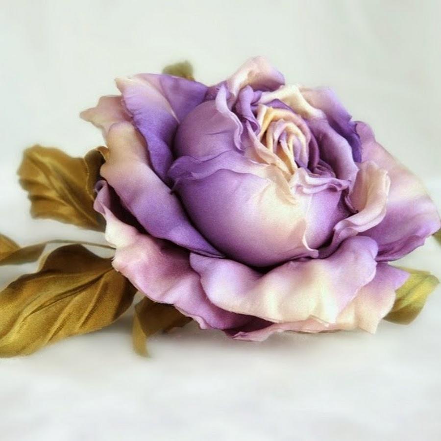 Мастер класс бесплатно цветы из ткани