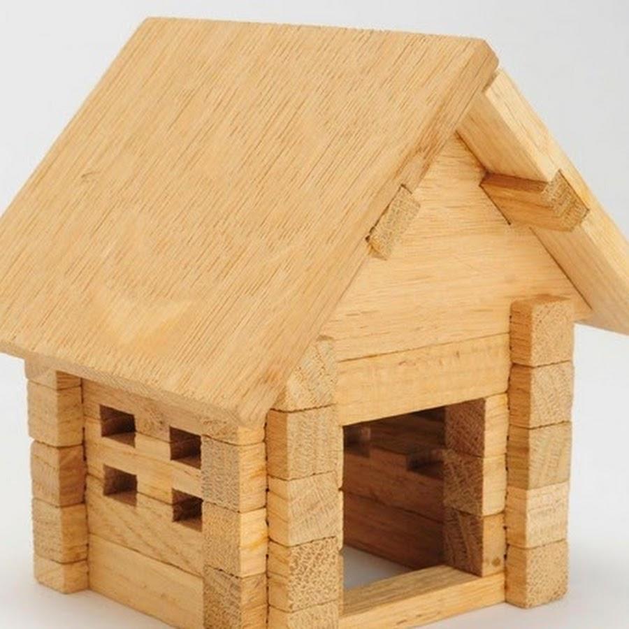 Конструктор деревянный домик своими руками