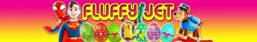 Fluffy Jet Toys