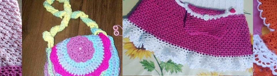 Вязание платья лужок 1 часть 2