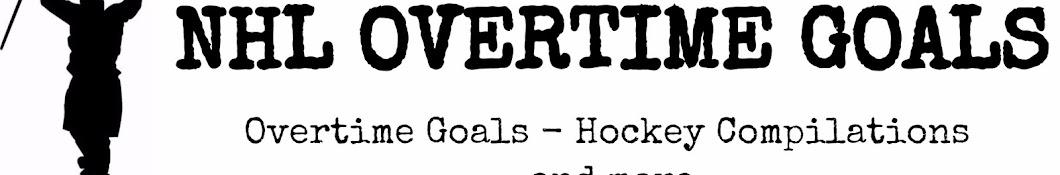 NHL Overtime Goals
