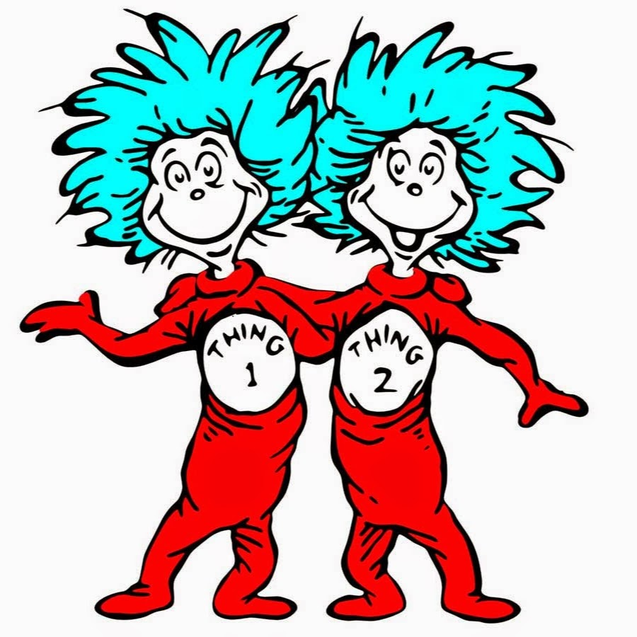 Thing 1 And Thing 2 Baby Clothes