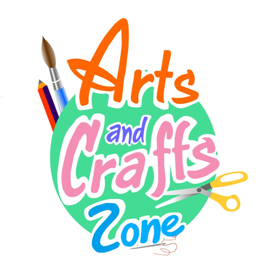 Art and crafts zone youtube for Youtube art and craft