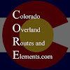 Colorado Overland Routes and Elements