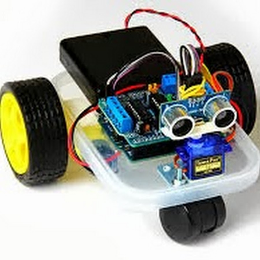 2-Wheel Self Balancing Robot by Using Arduino and