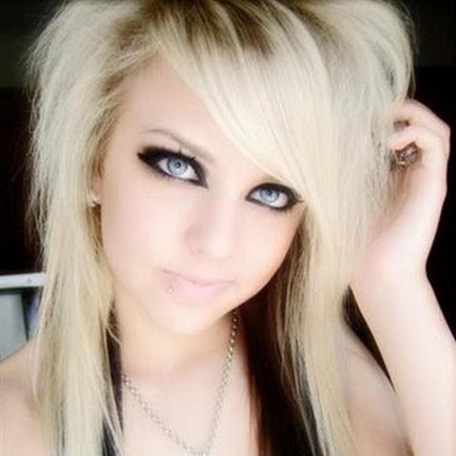 Эмо девушка блондинка 2 фотография