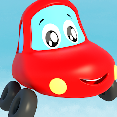 Little Red Car - Nursery Rhymes & Kids Videos