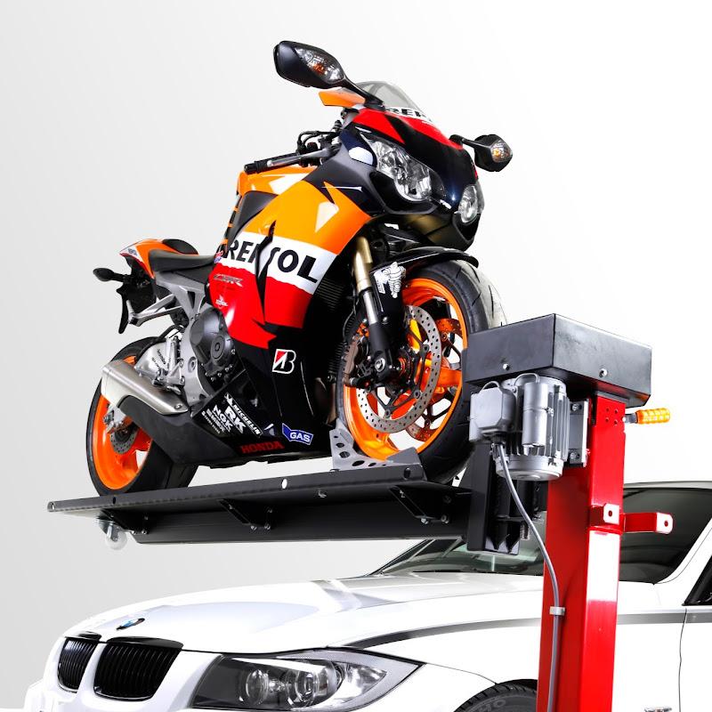moto lift 400 ld motorrad hebeb hne f r die garage www. Black Bedroom Furniture Sets. Home Design Ideas