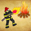 extinguish by flame