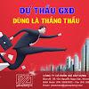 Học Dự toán Dự thầu GXD online