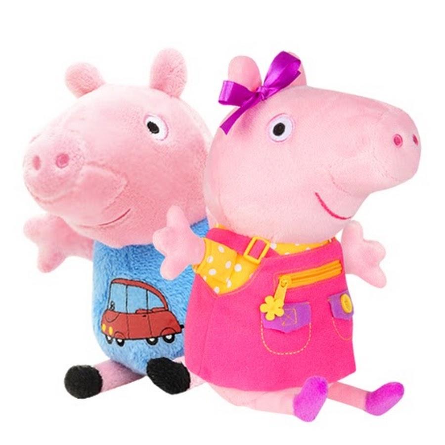 Свинка Пеппа Мультик с игрушками Пеппа украла зуб