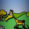 GiraffeRunning