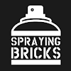 Spraying Bricks