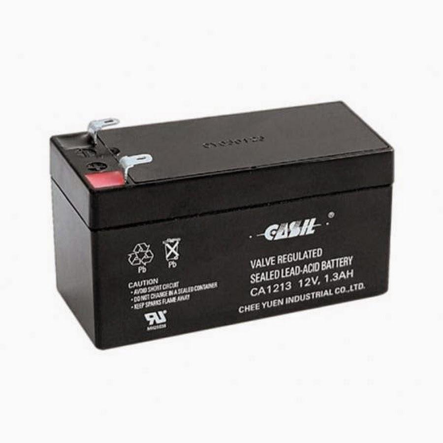Аккумулятор 12v 1.2 ач герметичный свинцово-кислотный.