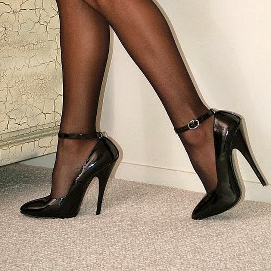 Nylon High Heels