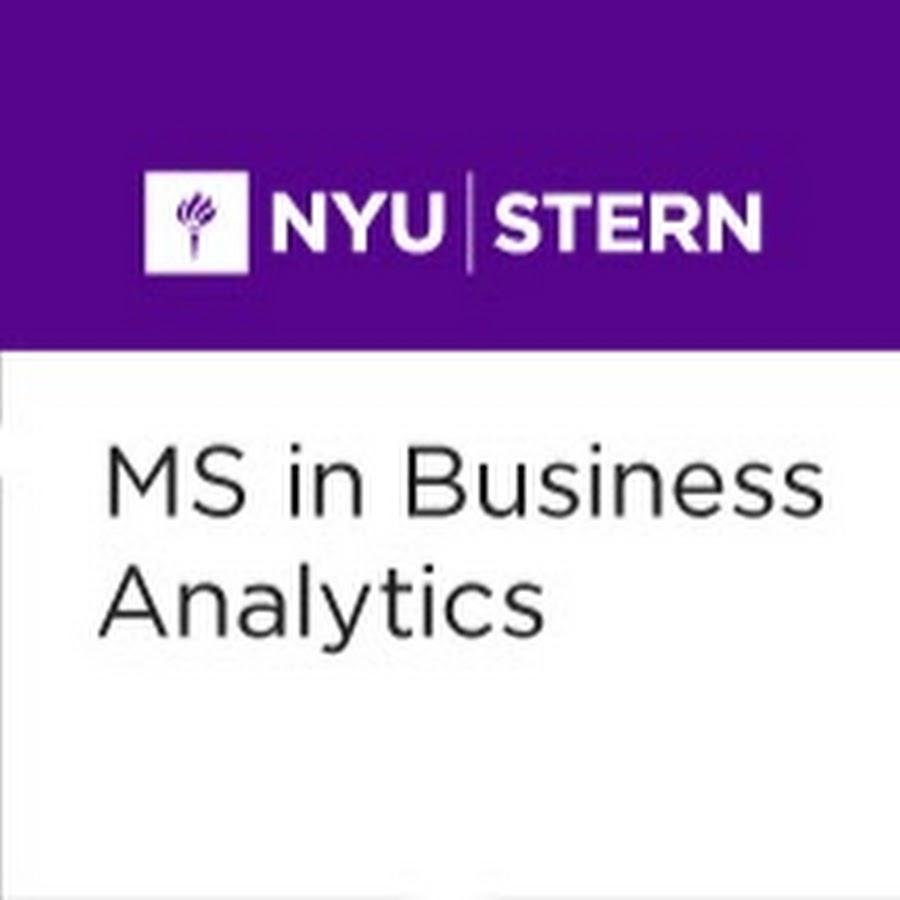 NYU Stern MSBA - YouTube