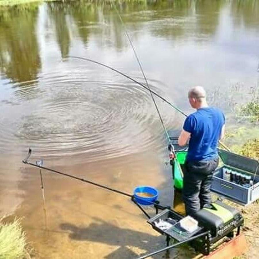 видео фидерная рыбалка на метод