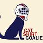 Cat-Shirt Goalie