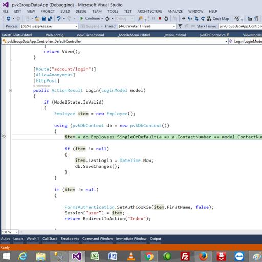 C#, ASP, MVC Tutorials