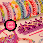 How To Make A Single Loop Rubber Band Bracelet On The Cra