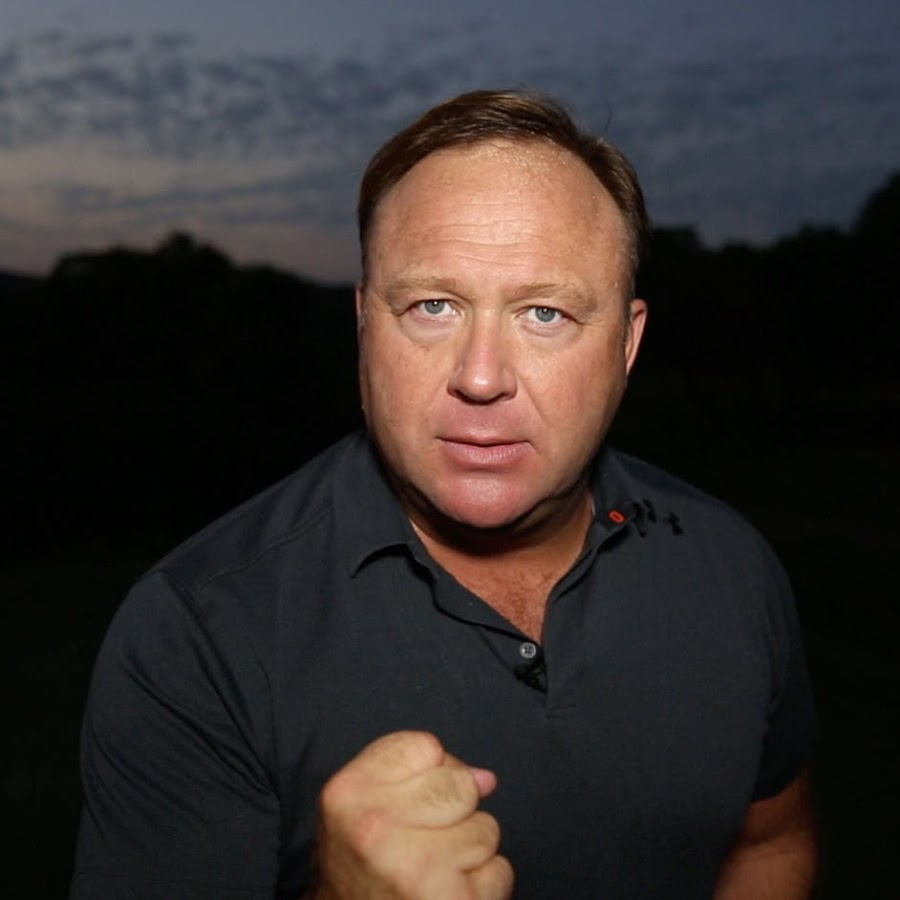 Alex Jones on YouTube