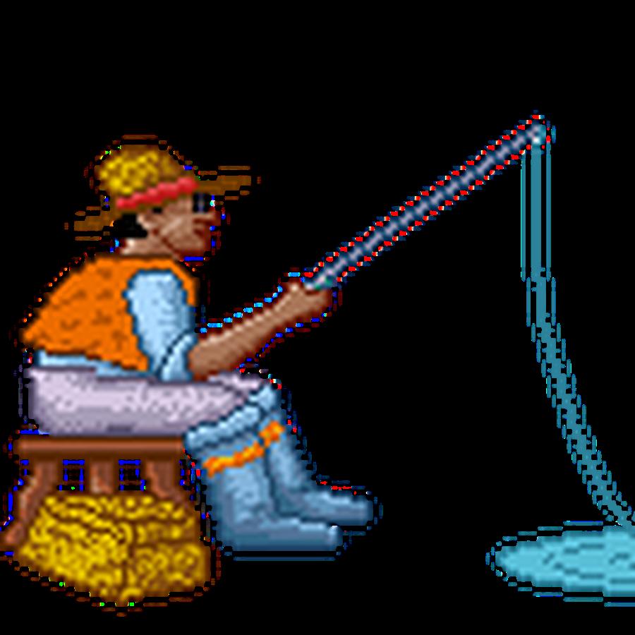 гиф анимация рыбалка