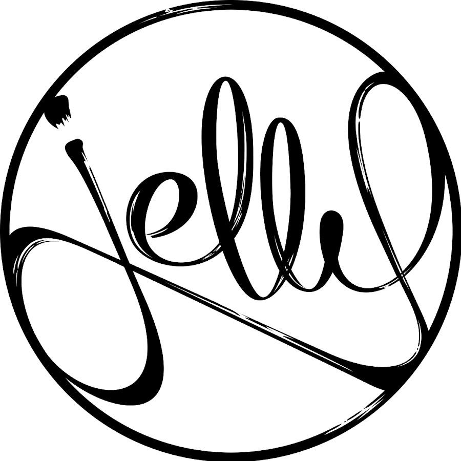 how to draw jelly logo
