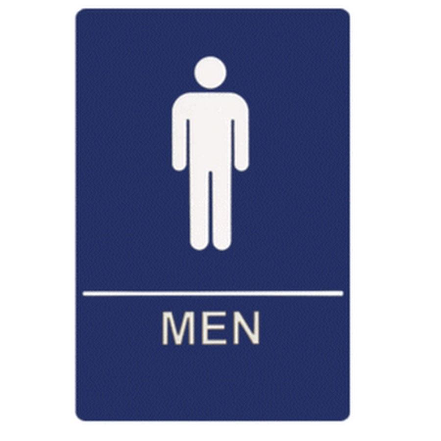 Boy Bathroom Sign Because Im A Guy Youtube