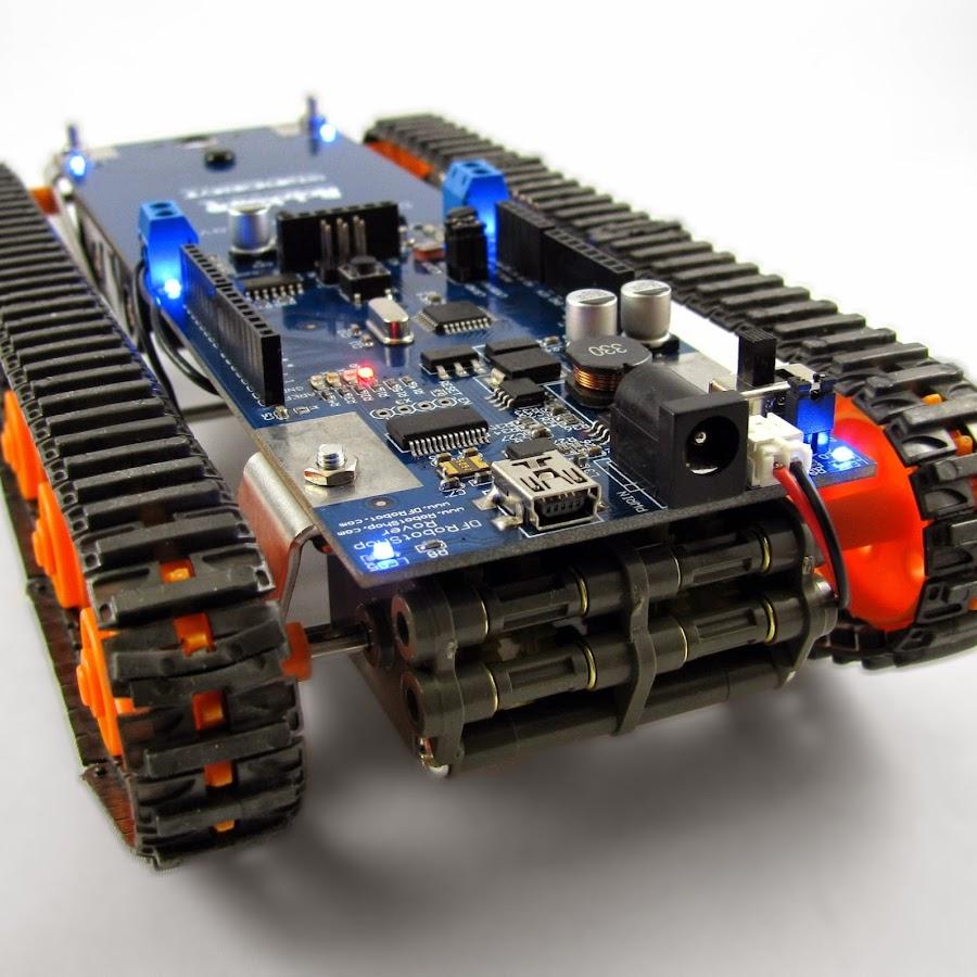 DFRobotShop Rover V2 - Arduino Compatible Tracked