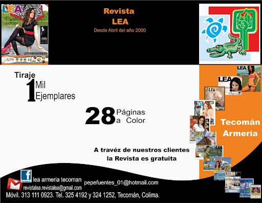 Revista LEA Tecomán Armería