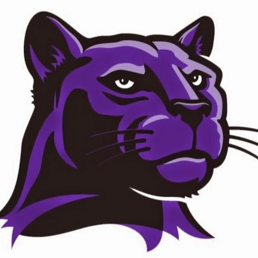 purple panther football logos