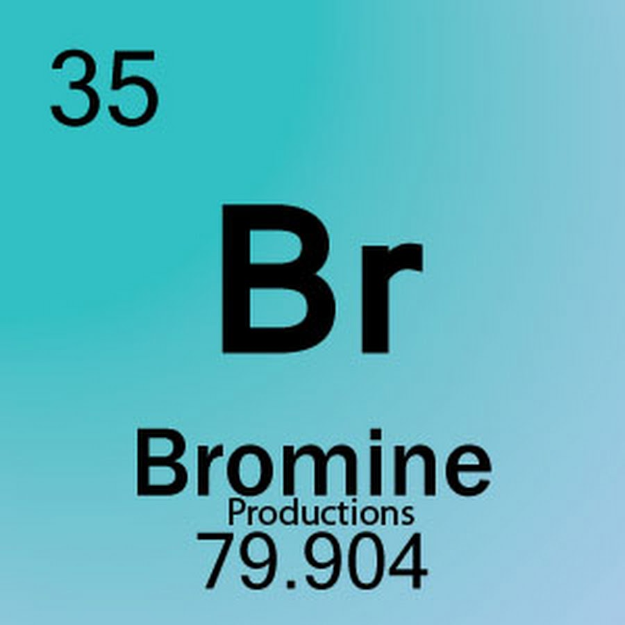 Periodic table bromine choice image periodic table images bromine productions youtube gamestrikefo choice image gamestrikefo Image collections