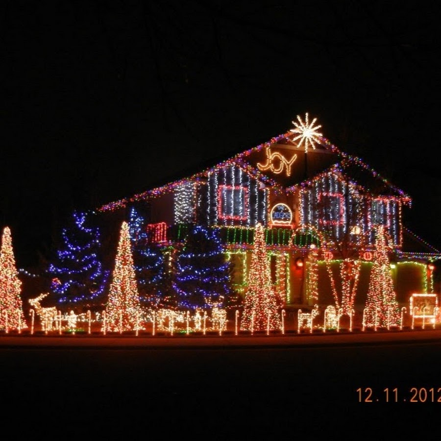 Cadger Christmas Light Show - YouTube